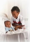 Professional 3month Baby Portraits by Tacoma photograher Indigo Portrait Studios
